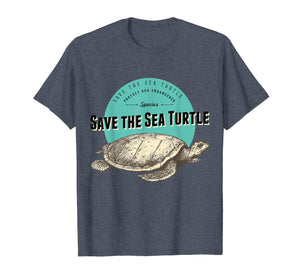 Save The Sea Turtle T-Shirt - Endangered Species Tee