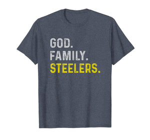 God Family Steelers Pro Us Flag Shirt Father's Day Dad gift T-Shirt 185164
