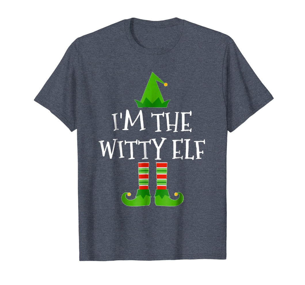 I'm The Witty Elf Matching Family Group Christmas T Shirt 192831