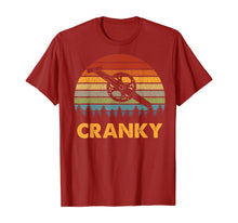 Ladda upp bild till gallerivisning, Retro Vintage Gift For Cycling Lovers Bicycle Cranky T-Shirt 312933