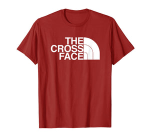 The Cross Face Wrestling T-Shirt