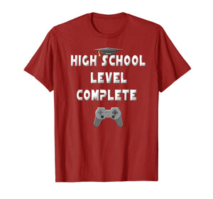 2019 High School Level Complete Gamer Graduation Gifts Shirt