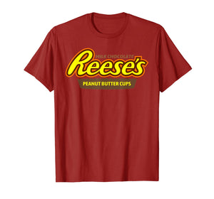 Funny shirts V-neck Tank top Hoodie sweatshirt usa uk au ca gifts for Reese's-Milk Chocolate Peanut Butter Cup T-Shirt 358173