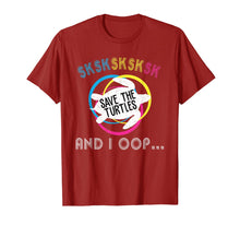 Ladda upp bild till gallerivisning, SKSKSK Skip A Straw! Save The Turtles T-Shirt