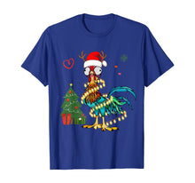 Ladda upp bild till gallerivisning, Funny shirts V-neck Tank top Hoodie sweatshirt usa uk au ca gifts for Chicken Christmas Reindeer Christmas Lights Pajama Costume T-Shirt 399599