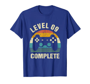 9th Wedding Anniversary Gifts Level 9 Complete Gamer T-Shirt