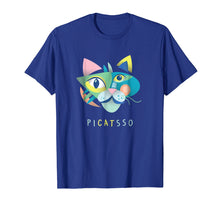 Ladda upp bild till gallerivisning, Artist & Art Teacher Shirt: Picatsso, Funny Abstract Cat Art