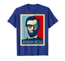 Ladda upp bild till gallerivisning, Funny shirts V-neck Tank top Hoodie sweatshirt usa uk au ca gifts for Abraham lincoln tshirt wearing US glasses 2302637