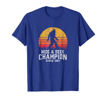 Ladda upp bild till gallerivisning, Retro Hide & Seek Champion Bigfoot T-Shirt - Believe!