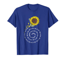Ladda upp bild till gallerivisning, Whisper Word To Wisdom Let It Be Sunflower Hippie Gift Shirt