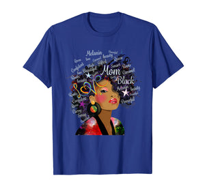 Black History Month Tshirt Afro Girl