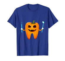 Ladda upp bild till gallerivisning, Funny Dental Halloween Tooth Pumpkin Dentist Halloween Gift T-Shirt 183177