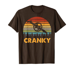 Retro Vintage Gift For Cycling Lovers Bicycle Cranky T-Shirt 312933