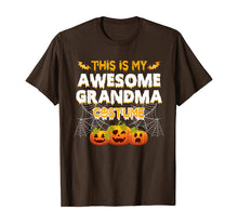 Ladda upp bild till gallerivisning, This Is My Awesome Grandma Costume Halloween Gift T-Shirt 153953