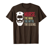 Ladda upp bild till gallerivisning, Funny shirts V-neck Tank top Hoodie sweatshirt usa uk au ca gifts for Murse The Man The Myth The Legend Vintage Male Nurse Shirt 1479883
