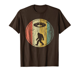 Vintage Retro Classic T-Shirt: Bigfoot Sasquatch Alien Gift