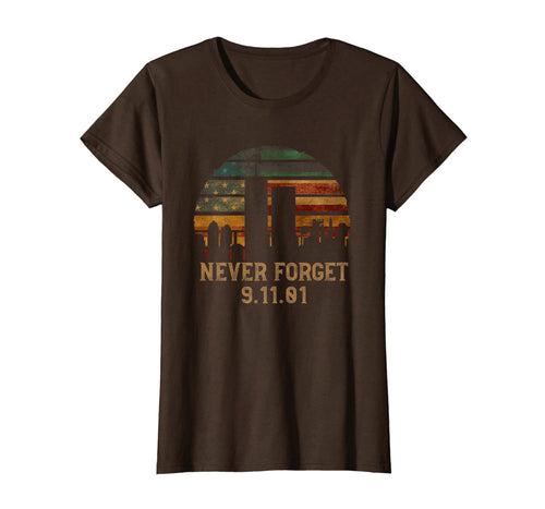 Never forget Patriotic 911 American Flag Vintage Gifts T-Shirt 148119