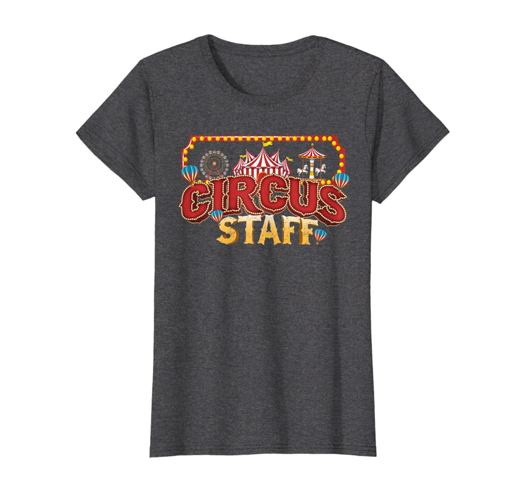 Vintage Circus Themed Birthday Party Event Circus Staff T-Shirt 412749