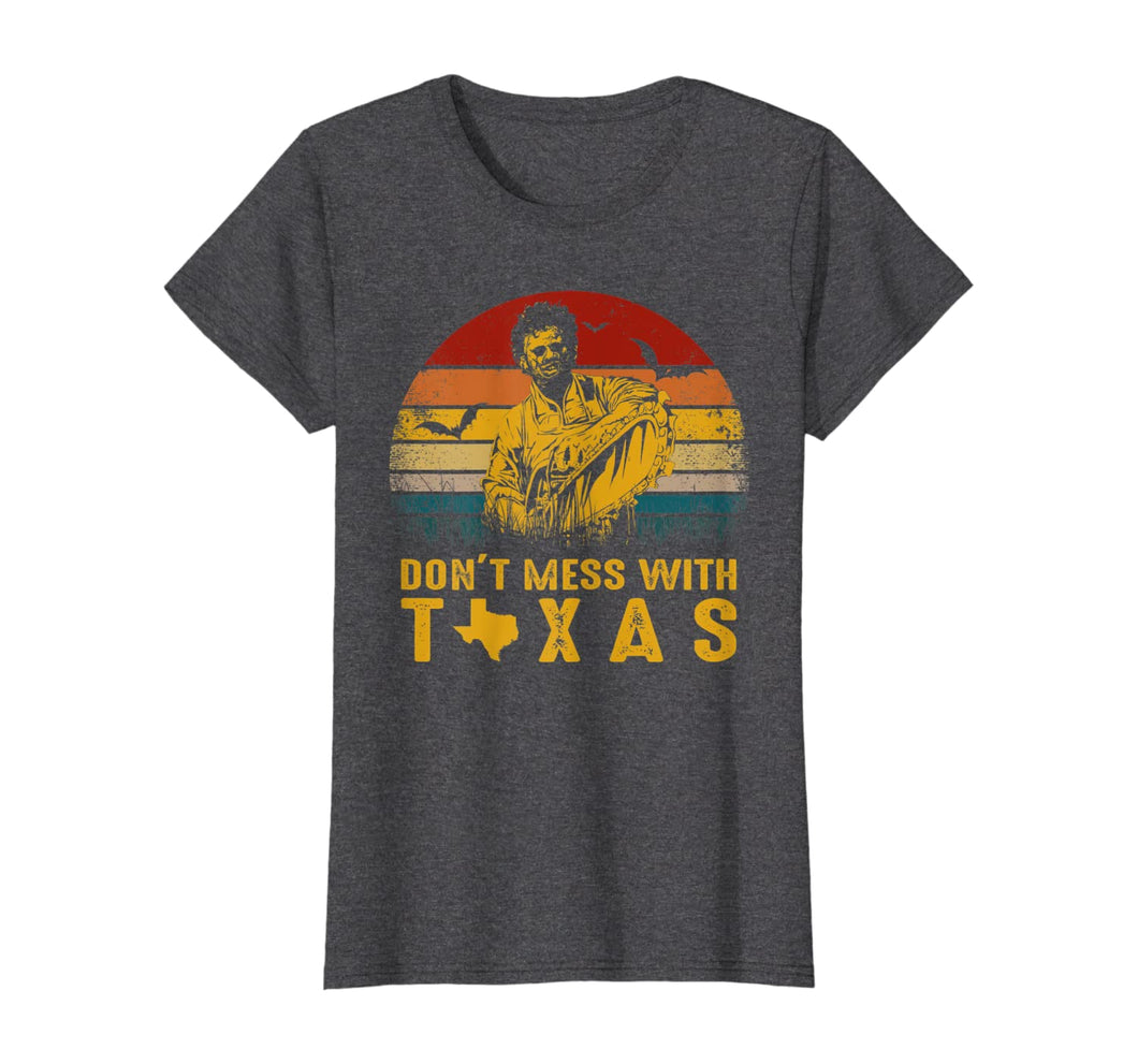 Dont Mess With Vintage Texas Funny Halloween T-Shirt 186573