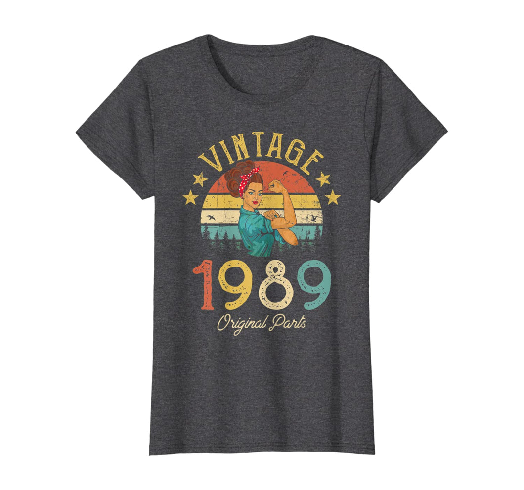 Vintage 1989 Made in 1989 30th birthday 30 years old Gift T-Shirt 217135
