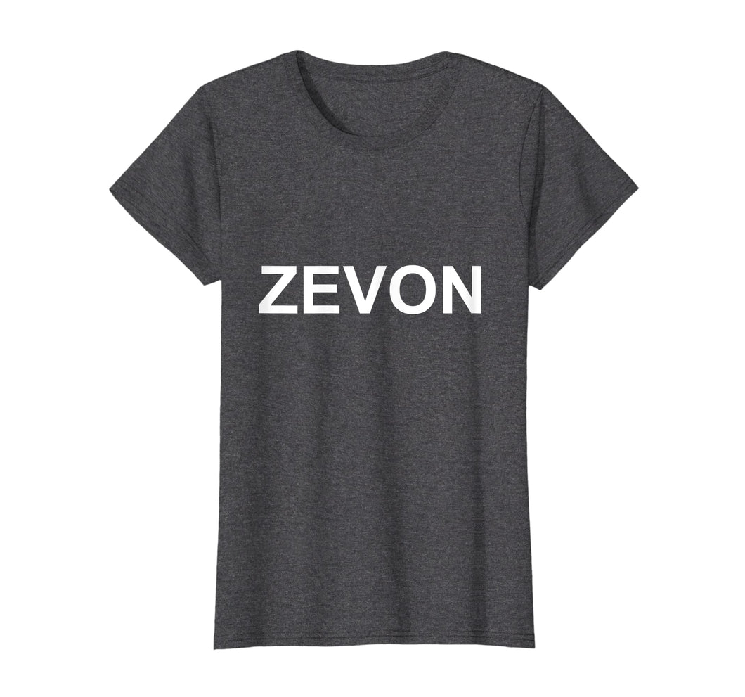 Funny shirts V-neck Tank top Hoodie sweatshirt usa uk au ca gifts for Zevon T-Shirt - Multiple Colors 1004391