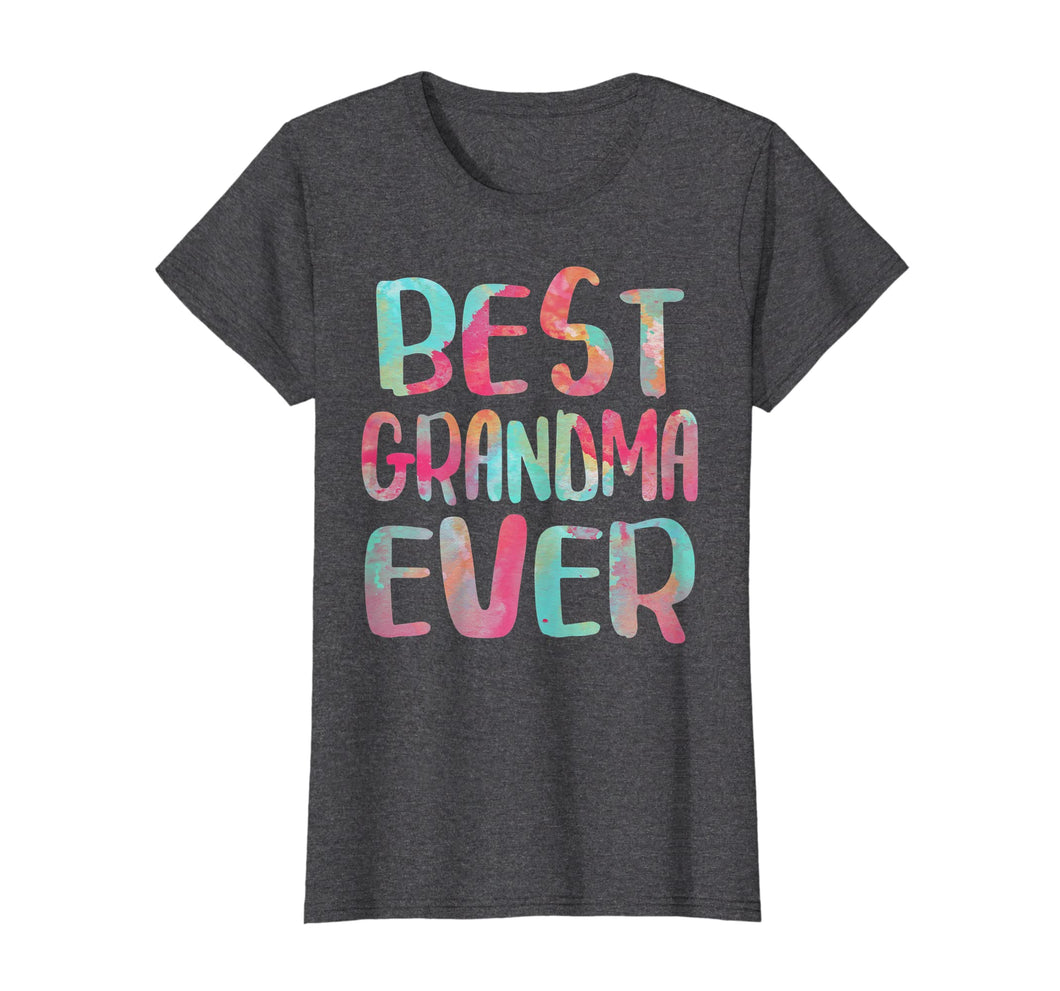 Womens Best Grandma Ever T-Shirt Mother's Day Gift Shirt