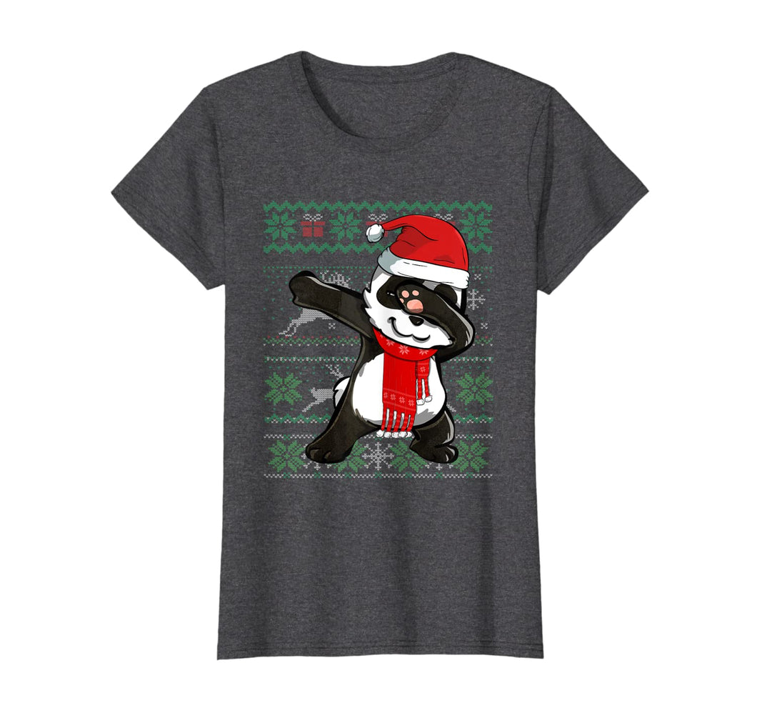 Funny shirts V-neck Tank top Hoodie sweatshirt usa uk au ca gifts for Ugly X-mas Sweater Dabbing Panda Christmas Costume Kids Gift T-Shirt 452576