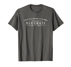 Remember Benghazi T Shirt