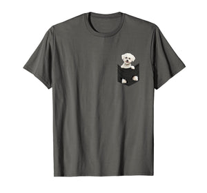 Bichon Frise In Your Pocket T-Shirt | Bichon Frise Gift