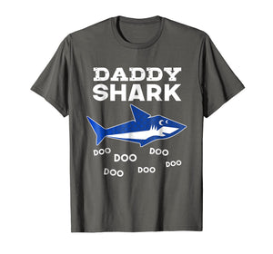 Funny shirts V-neck Tank top Hoodie sweatshirt usa uk au ca gifts for Mens Daddy Shark Doo Doo Doo T-shirt - Matching Family Shirt 1460581