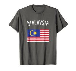 Funny shirts V-neck Tank top Hoodie sweatshirt usa uk au ca gifts for Malaysia Flag T-Shirt 2466386