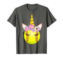 Ladda upp bild till gallerivisning, Softball Unicorn Shirt Funny Unicorn Lover Gifts For Girls