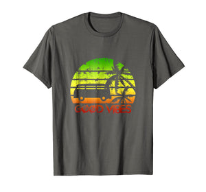 Funny shirts V-neck Tank top Hoodie sweatshirt usa uk au ca gifts for Good Vibes Van Bus One Love One Heart Rastafari T-Shirt 3015060