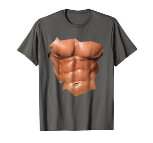Funny shirts V-neck Tank top Hoodie sweatshirt usa uk au ca gifts for Mens Chest Six Pack Abs funny fake abs Muscles T-Shirt REALISTIC 2000111
