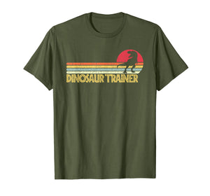 Dinosaur Trainer Halloween TShirt Costume for Adults Kids T-Shirt 254718