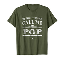 Ladda upp bild till gallerivisning, Funny shirts V-neck Tank top Hoodie sweatshirt usa uk au ca gifts for My Favorite People Call Me Pop Grandpa Gift Men T-shirt 1527931