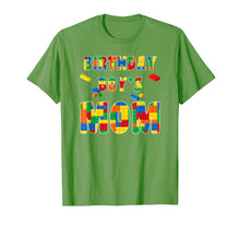 Ladda upp bild till gallerivisning, Building Block Mom Of Birthday Boy T-Shirt
