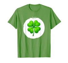 Ladda upp bild till gallerivisning, Fun Good Luck Clover Bear Costume for Lucky Halloween T-Shirt 381805