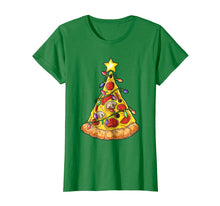 Ladda upp bild till gallerivisning, Funny shirts V-neck Tank top Hoodie sweatshirt usa uk au ca gifts for Christmas shirts for Men Boys Pizza Xmas Tree Crustmas Gifts 1683316