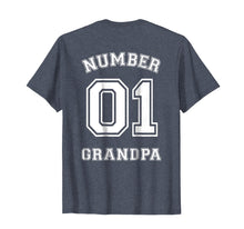 Ladda upp bild till gallerivisning, Funny shirts V-neck Tank top Hoodie sweatshirt usa uk au ca gifts for Mens Number 1 GRANDPA Sports Jersey Style T-Shirt 1045538