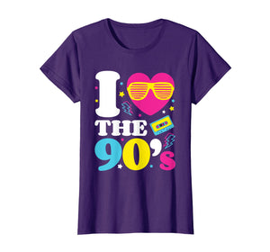 1990'S 90s Tshirt I Heart The Nineties T Shirt