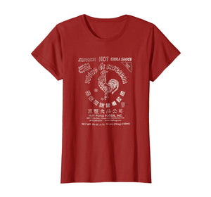Sriracha Distressed Label Graphic T-Shirt