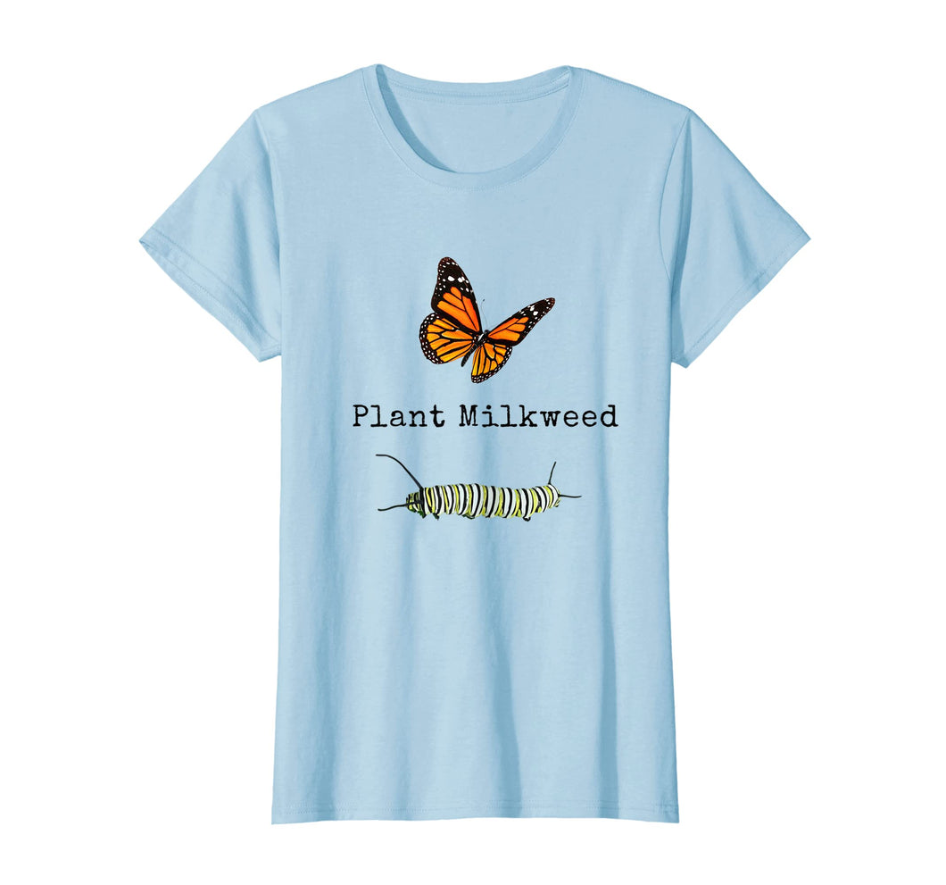 Funny shirts V-neck Tank top Hoodie sweatshirt usa uk au ca gifts for Monarch Butterfly Plant Milkweed Caterpillar T-Shirt 2190922