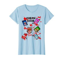 Ladda upp bild till gallerivisning, Cereal Killer Funny Easy Lazy Last Minute Halloween Costume T-Shirt 299144