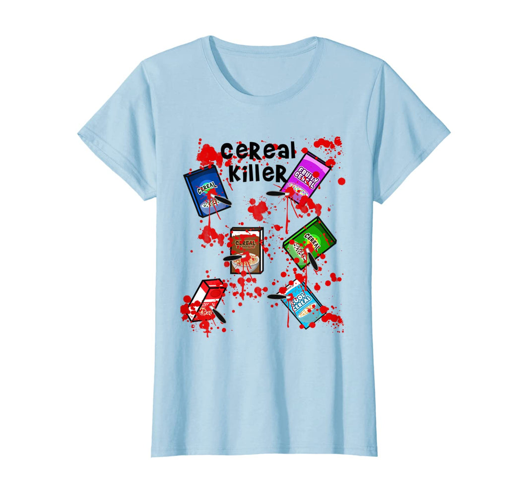 Cereal Killer Funny Easy Lazy Last Minute Halloween Costume T-Shirt 299144