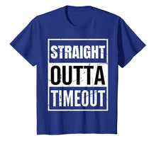 Ladda upp bild till gallerivisning, Funny shirts V-neck Tank top Hoodie sweatshirt usa uk au ca gifts for Straight Outta Timeout TShirt Funny Timeout Gift 1084785