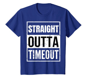 Funny shirts V-neck Tank top Hoodie sweatshirt usa uk au ca gifts for Straight Outta Timeout TShirt Funny Timeout Gift 1084785