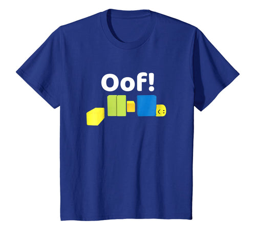 OOF! Funny Blox Noob Gamer T- Shirt Gifts For Gamers 95075