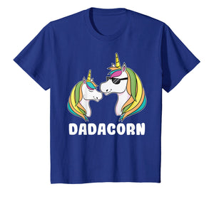 Funny shirts V-neck Tank top Hoodie sweatshirt usa uk au ca gifts for Dadacorn Unicorn Dad And Baby Fathers Day T-Shirt 1193539