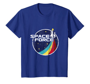 Space Force Vintage T-Shirt Funny Gift